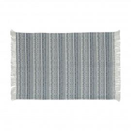 MILLESRAIES - set 4 - cotton - L 48 x W 33 cm - blue