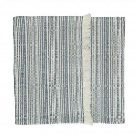 MILLESRAIES - set 2 - coton - L 150 x W 40 cm - bleu