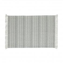 MILLESRAIES - set 4 - cotton - L 48 x W 33 cm - grey