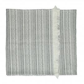 MILLESRAIES - set 2 - katoen - L 150 x W 40 cm - grijs