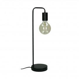 JAY - table lamp - metal - L 13 x W 13 x H 48,5 cm - black