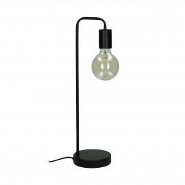 JAY - lampe de table - métal - L 13 x W 13 x H 48,5 cm - noir