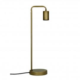 JAY - lampe de table - métal - L 13 x W 13 x H 48,5 cm - or