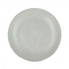 LEZARD - Dessert bord - porselein - DIA 22 cm - Wit