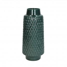 FEREO - vase - earthenware - DIA 15,5 x H 36 cm - blue