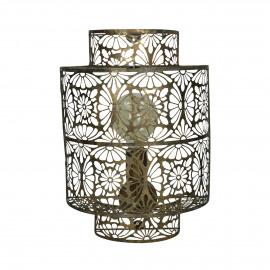 DECO - wall lamp - metal - L 30 x W 15 x H 41 cm - Natural
