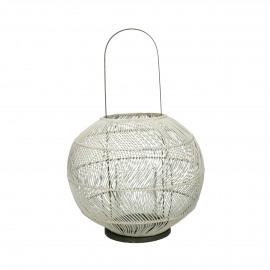 BULLE - lantern - rattan / iron - DIA 40 x H 56 cm