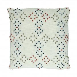 HADDOU - coussin - coton - L 45 x W 45 cm - multicolor