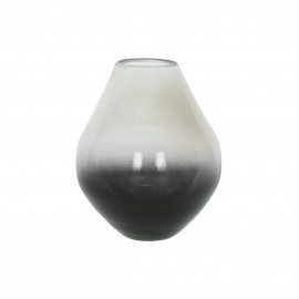 GHINCHO - vase - verre - DIA 12 x H 14,5 cm