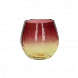 PASO - vase - verre - DIA 14 x H 12 cm