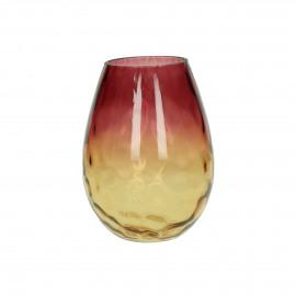 PASO - vase - verre - DIA 13 x H 20 cm