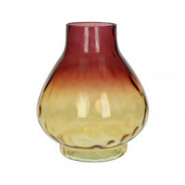 PASO  - vase - glass - DIA 22,5 x H 22 cm