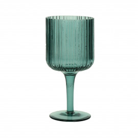CANISE - white wine glass - glass - DIA 7,5 x H 16 cm - blue