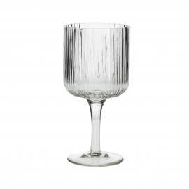 CANISE - white wine glass - glass - DIA 7,5 x H 16 cm - clear
