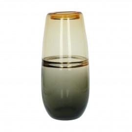 MAMBO - vaas - glas - DIA 16 x H 36 cm