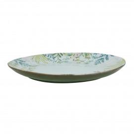 MON JARDIN - dinner bord - aardewerk - DIA 28 x H 2 cm