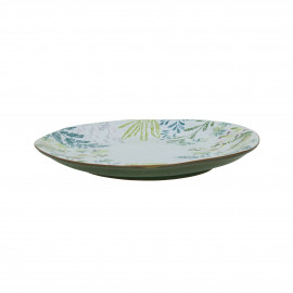 MON JARDIN - assiette dessert - faïence - DIA 22 x H 2 cm
