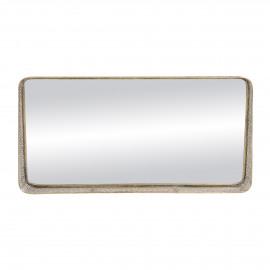 FILOU - mirror - metal / mirror glass - L 102 x W 14 x H 51 cm - gold