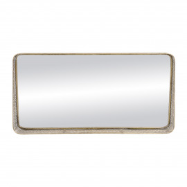 FILOU - spiegel - metaal / spiegelglas - L 102 x W 14 x H 51 cm - goud