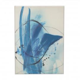 ICE - canvas - linnen - L 104 x W 4 x H 144 cm - Blauw