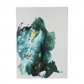 IPANEMA - tableau - lin - L102 x W 4 x H 142 cm - bleu