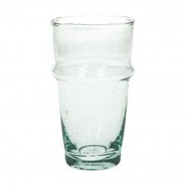 MITI - long drink glass - glass - L 7,4 x W 7,4 x H 13 cm - clear