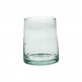 MIRA - water glass - glass - L 6,3 x W 6,3 x H 9 cm - clear