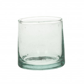 MIRA - water glass - glass - L 6,5 x W 6,5 x H 6,5 cm - clear