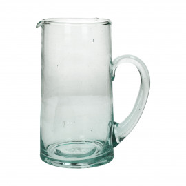 MIRA - pitcher - glass - L 9 x W 9 x H 19 cm - clear