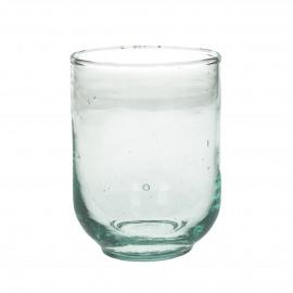 RONDO - tumbler - glass - L 7,5 x W 7,5 x H 10 cm - clear