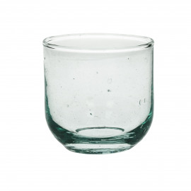 RONDO - water glass - glass - L 7,5 x W 7,5 x H 7,5 cm - clear