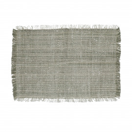 SHIKHA - set/4 placemats - linen / viscose - L 48 x W 33 cm - natural