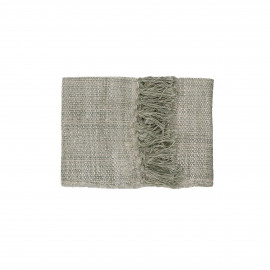 SHIKHA - set/2 table runners - linen / viscose - L 140 x W 40 cm - natural