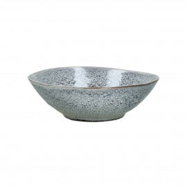 FLOCON - soup bowl - stoneware - DIA 18,5 x H 5,5 cm - blue