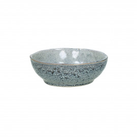 FLOCON - kom - stoneware - DIA 11 x H 3 cm - blauw