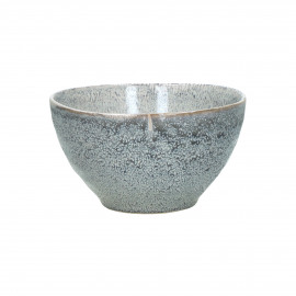 FLOCON - bowl - stoneware - DIA 14 x H 8 cm - blue
