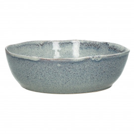 FLOCON - salad bowl - stoneware - DIA 22,5 x H 7,5 cm - blue