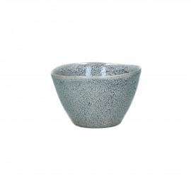 FLOCON - kom - stoneware - DIA 10,5 x H 6,5 cm - blauw