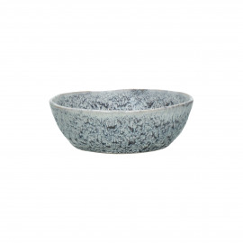 FLOCON - kom - stoneware - DIA 14 x H 4,5 cm - blauw