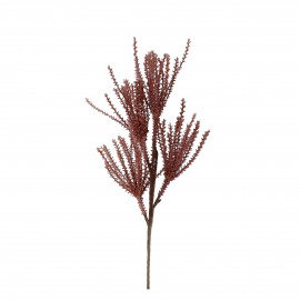 PLUM'O - artificial plant - synthetics - L 107 cm - burgundy