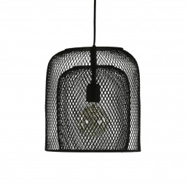 KABU - hanging lamp - iron - DIA 29 x H 32 cm - black