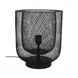 KABU - table lamp - iron - DIA 29 x H 35 cm - black