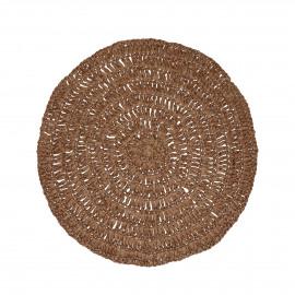 MEKKO - placemat - papier - DIA 38 cm - brun