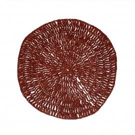 MEKKO - placemat - papier - DIA 38 cm - bordeaux