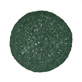MEKKO - placemat - papier - DIA 38 cm - vert