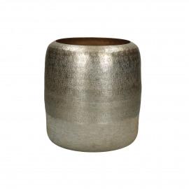 LUNA - vase - aluminium - DIA 19 x H 21 cm - gold