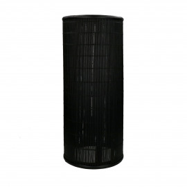 SHADOW - floor lamp - bamboo - DIA 25 x H 60 cm - black