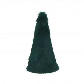 FURBY - x-mas tree - fake fur - DIA 9 x H 20 cm - green