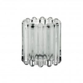 BROOKLYN CANET - t/light - verre / métal - DIA 6 x H 7 cm - transparant