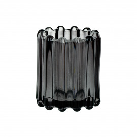 BROOKLYN CANET - t/light - verre / métal - DIA 6 x H 7 cm - gris